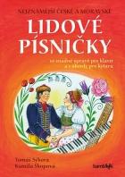 Nejznámější české a moravské lidové písničky Přidat k oblíbeným s úpravou pro klavír a s akordy pro kytaru