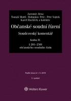 Občanské soudní řízení. Soudcovský komentář. Kniha IV (§ 201 až 250t o. s. ř.) - 3. vydání
