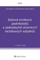 Daňová evidence podnikatelů a jednoduché účetnictví neziskových subjektů
